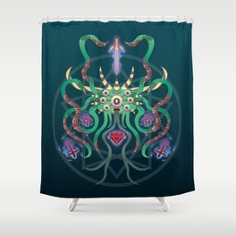Nameless Fiend Shower Curtain
