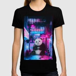 Giant panda in a Chinese street by GEN Z T-shirt