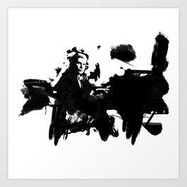 Glenn Gould - Canadian Pianist Art Print