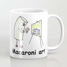 Macaroni Art Coffee Mug