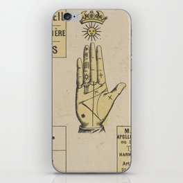 Vintage French Sun Tarot Card iPhone Skin