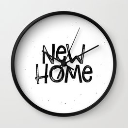 New home Wall Clock