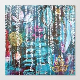 Tropical Secret Garden Canvas Print