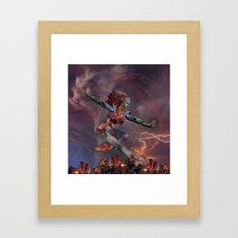 Phoenix Rising Framed Art Print