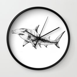 Hammerhead Shark Wall Clock