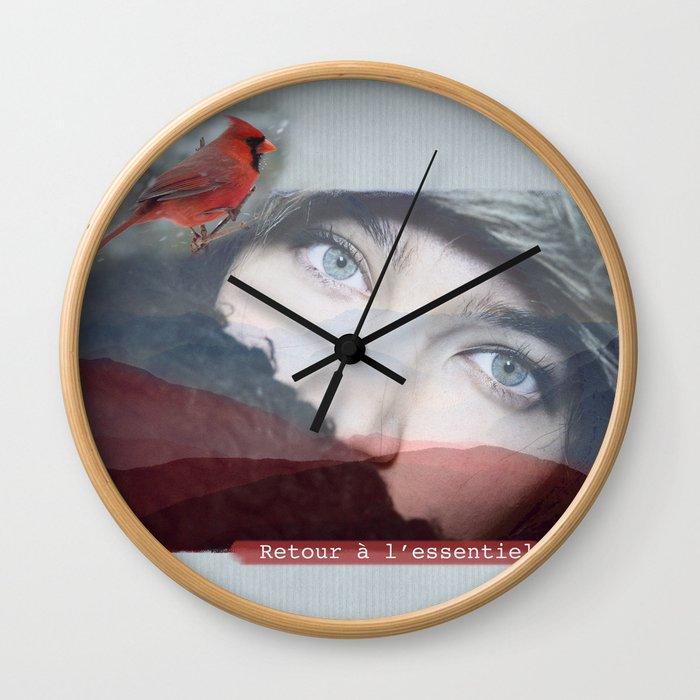Retour à l'essentiel Wall Clock