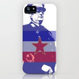 JOSIP BROZ TITO CHAIRMAN YUGOSLAVIA iPhone Case