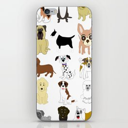 Pet dogs design iPhone Skin