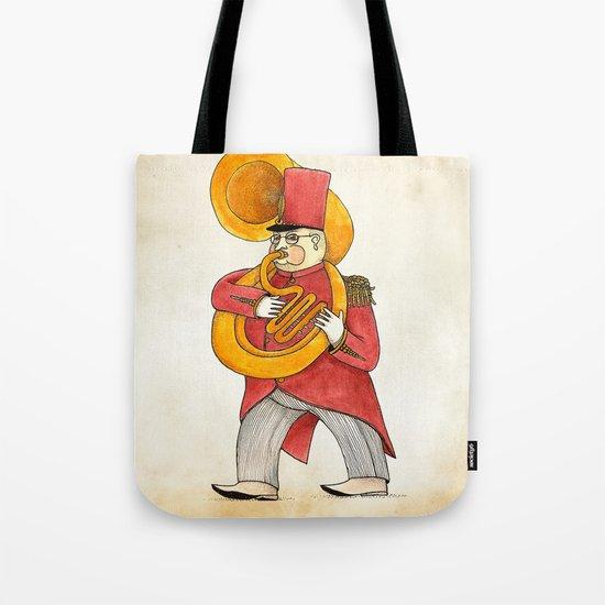 García, tuba Tote Bag