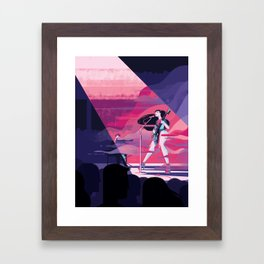 Haitus Kaiyote Framed Art Print