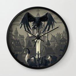 Dark Times Wall Clock