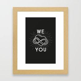 Holly polyamory Framed Art Print