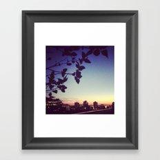 Rooftop Views Framed Art Print