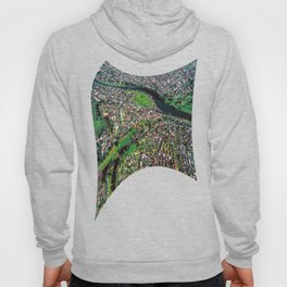 Hamilton City, New Zealand - Aerial view  Hoody