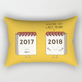 so last year... Rectangular Pillow