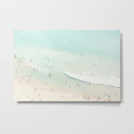 beach summer fun Metal Print