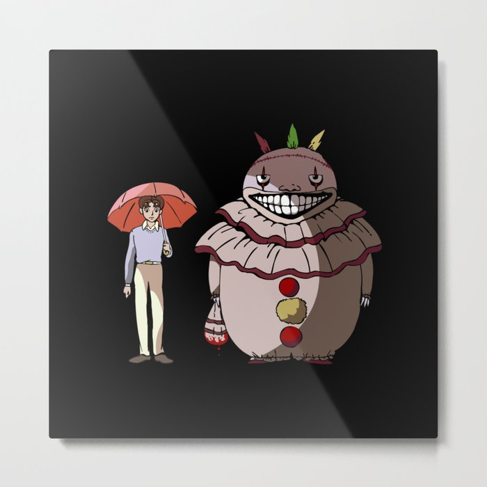 Twisty and Dandy Metal Print