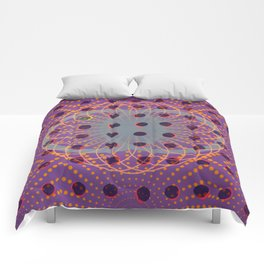 Dot - 3D graphic Comforters