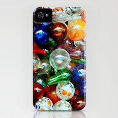 Glass Balls Slim Case iPhone (4, 4s)