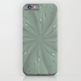 Lost in the Laurels Fractal Bloom iPhone Case