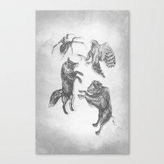 Paper Dance Canvas Print