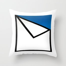 Geometric Design by Dominic Joyce Throw Pillow