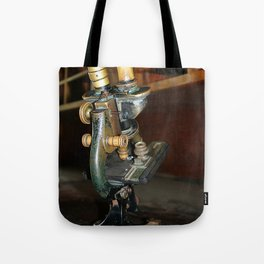 Old Microscope Tote Bag
