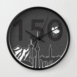 Canada 150 Wall Clock