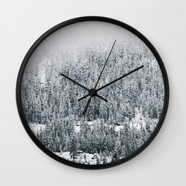Nature's Gradient Wall Clock