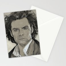 Aidan Turner: Poldark Stationery Cards