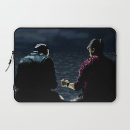 John and Rodney on the Pier Laptop Sleeve