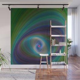Elliptical Eye Wall Mural