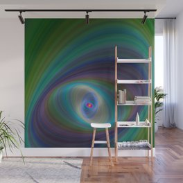 Elliptical Eye Wall Mural
