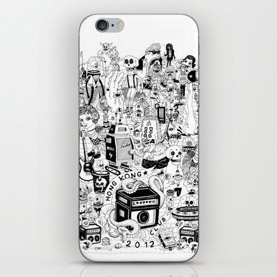 HONG KONG CLUB iPhone & iPod Skin