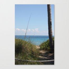 """Sailing the Atlantic"" Canvas Print"