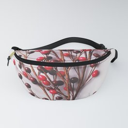 Minimal Christmas Bouquet Fanny Pack