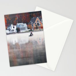Foggy Fishy Morning Stationery Cards