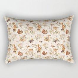 Meadow Friends Rectangular Pillow