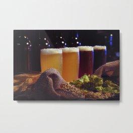 Beer Tasting 101 home brew Metal Print