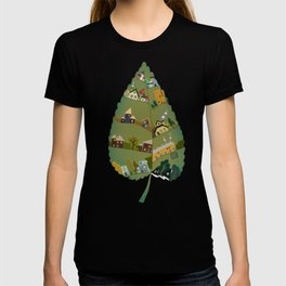 Leafing house T-shirt