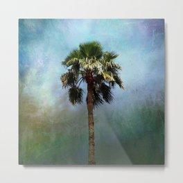 Sturdy Palm Tree Metal Print