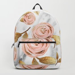 Blushing blooms Backpack