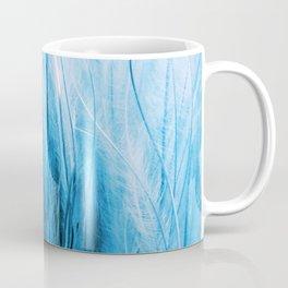 Feather Grass Blue Coffee Mug
