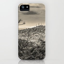 Guayaquil Outskirts Aerial View from Botanical Garden iPhone Case