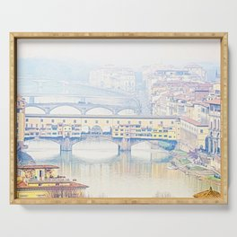 Ponte Vecchio. Serving Tray