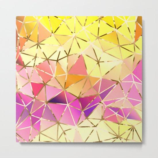 Rainbow Geometric pattern #5 Metal Print