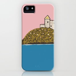 Castle on a Hill iPhone Case