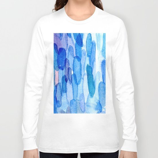Water shapes Long Sleeve T-shirt
