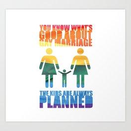 LGBT Parenting Art Print