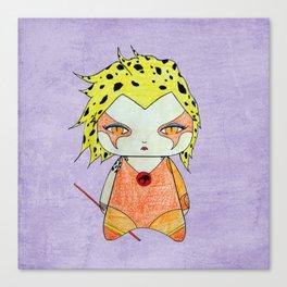 A Girl - Cheetara (Thundercats) Canvas Print